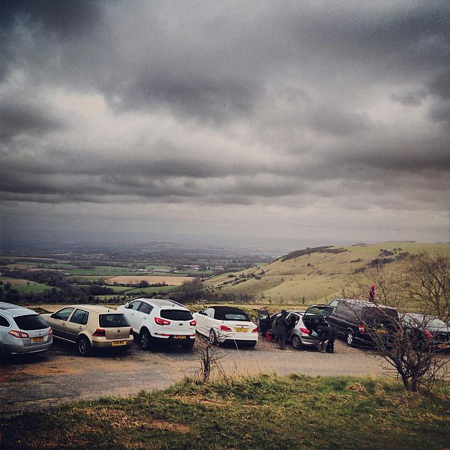 A summit finish on Ditchling Beacon awaits riders on the Puncheur.