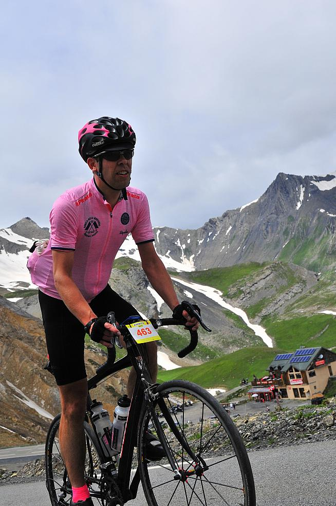 Climbing the Galibier from Plan Lachat