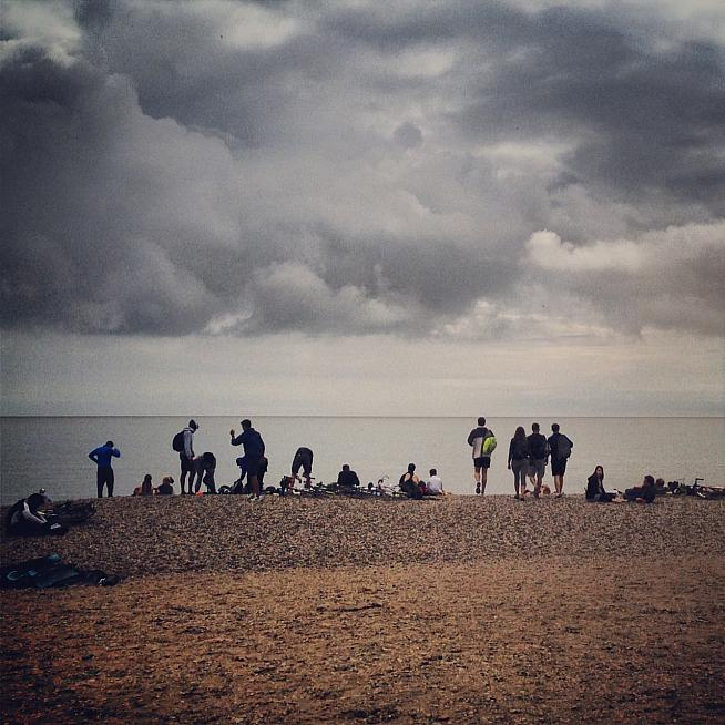 Left high and dry: riders on this year's Dunwich Dynamo will have no coach transport back to London.
