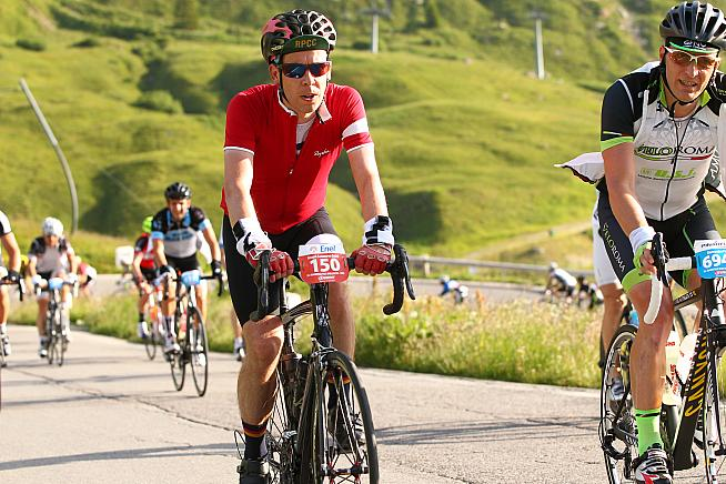 The heat and mountain climbs tested Joe's limits on the 2015 Maratona.