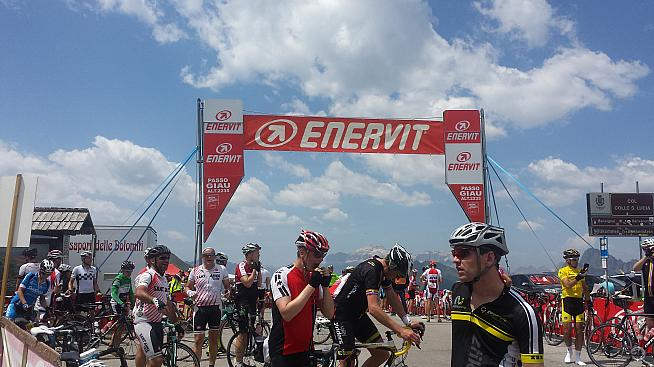 Top of Passo Giau