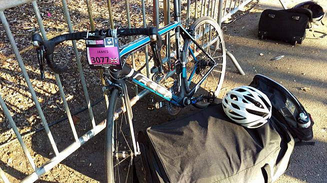Bike  check. Kit  check. Flights? Ah.