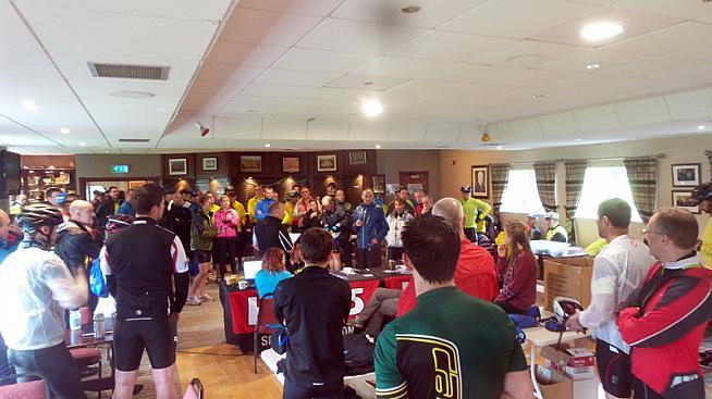 Event HQ at Clonduff Gaelic Athletic club.