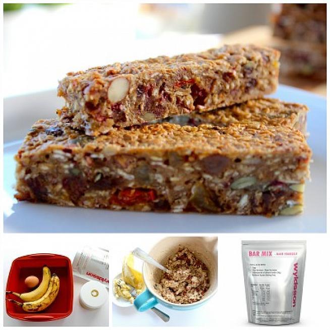 Making your own energy bars is simple with Wyldsson Bar Mix.