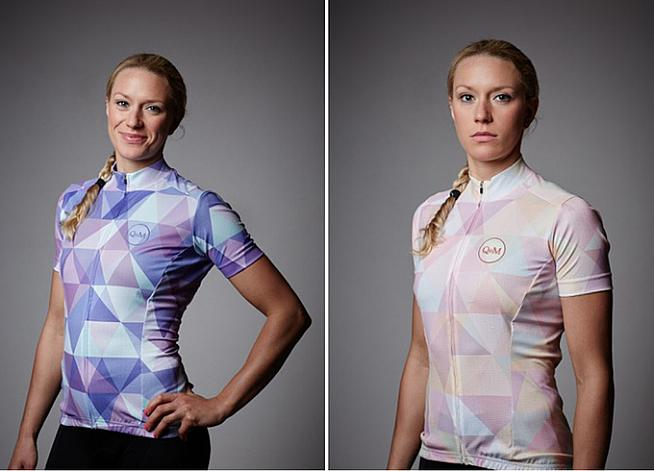 The Queen of the Mountains classic jersey will come in two colours: lavender and soleil. Don't say pink.