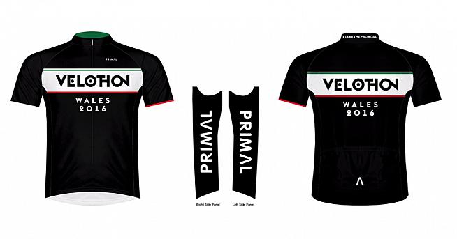 The official Primal kit for the 2016 Velothon Wales.