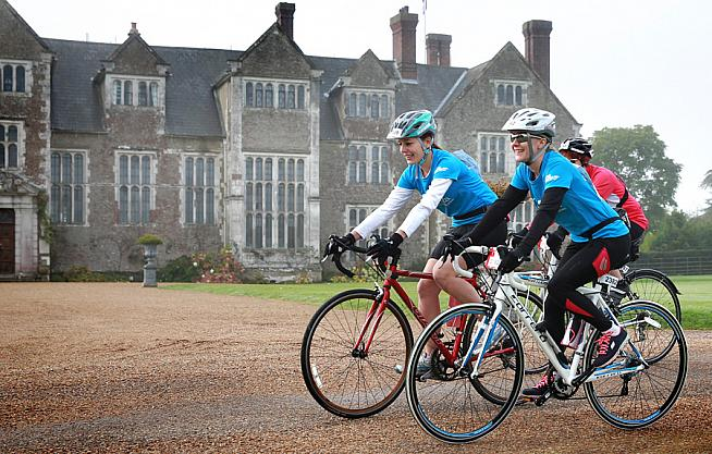 Stately progress... Both 2016 Cycletta events feature picturesque headquarters at Tatton Park and Woburn Abbey.