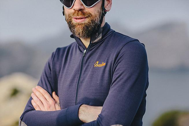 The Thermerino Jersey from Isadore offers merino performance for cold weather riding.