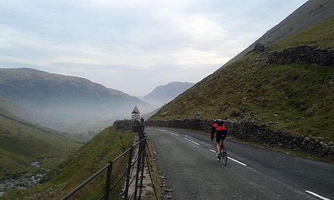 Kirkstone descent into Patterdale.