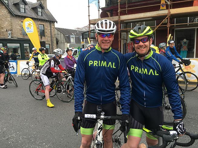 Team Primal on tour.