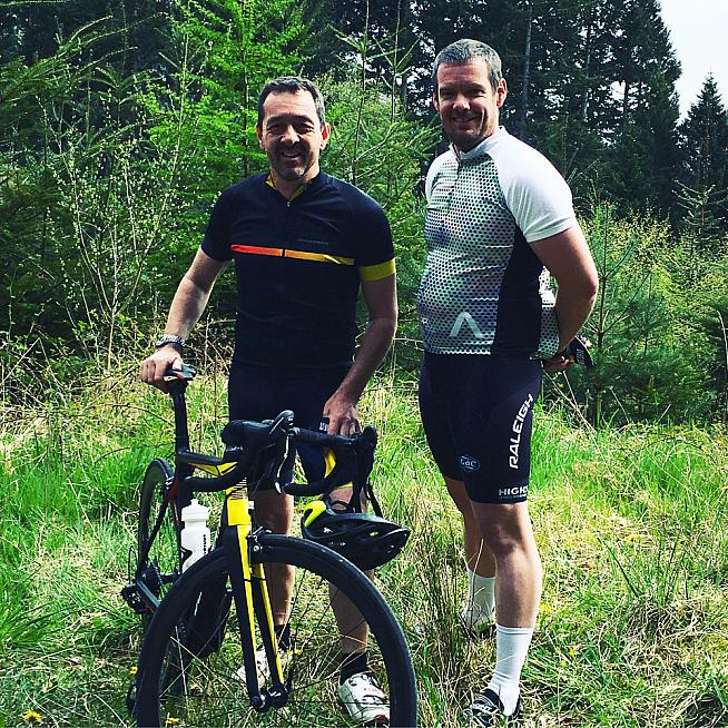 James caught up with Chris Boardman for a chat about all things cycling. Including helmet hair.