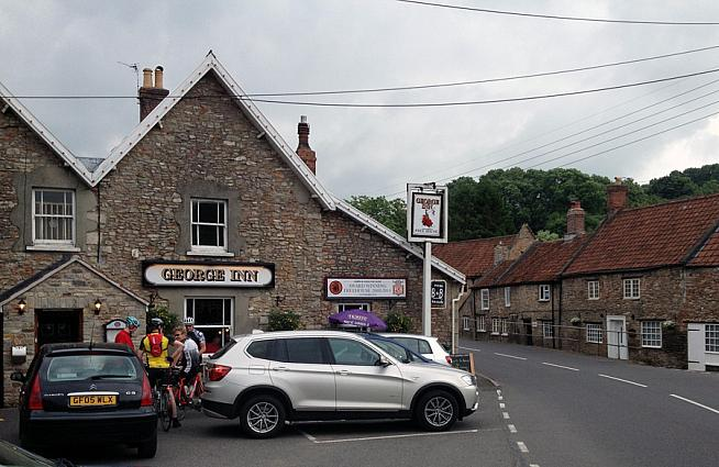 The George Inn plays host to the Mendip Sportive for Multiple Sclerosis.