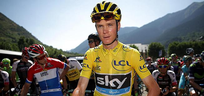 Chris Froome rode the L'Etape London in 2016.