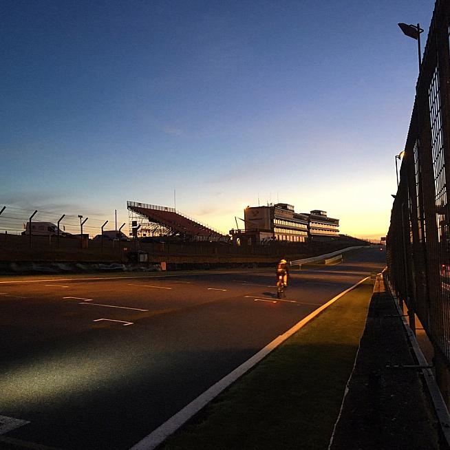 Sunrise on the grid.