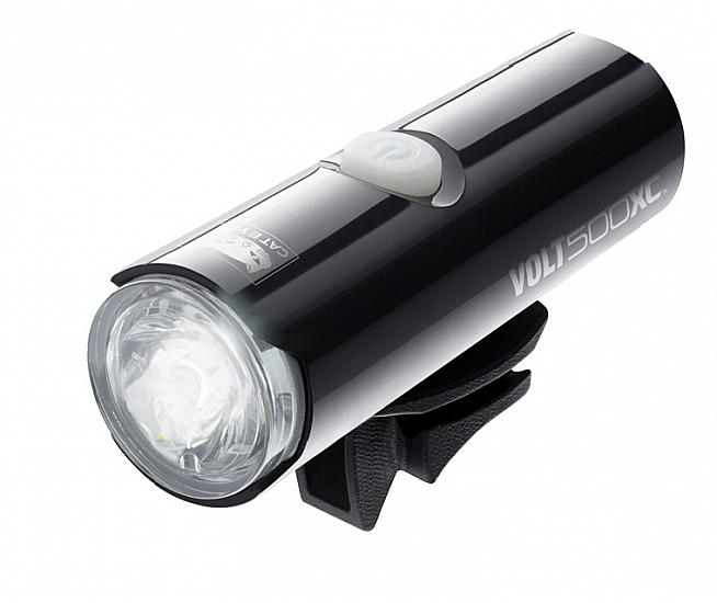 The CatEye Volt 500 XC is a high powered front light for cycling in pitch black conditions.
