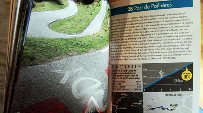 Simon Warren covers the Port de Pailheres in his book Climbs of the tour de France.