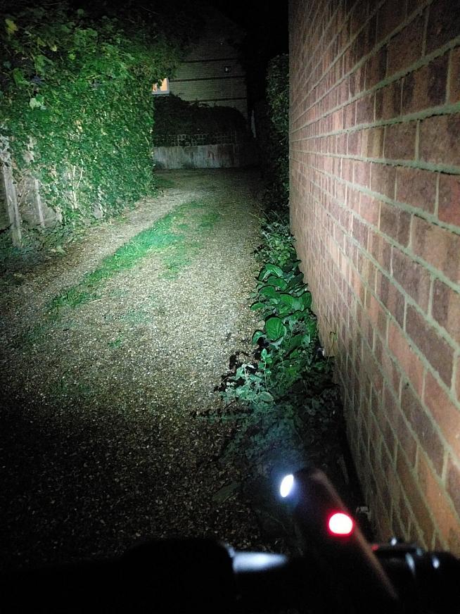 The Volt 500 XC makes short work of dark alleys.