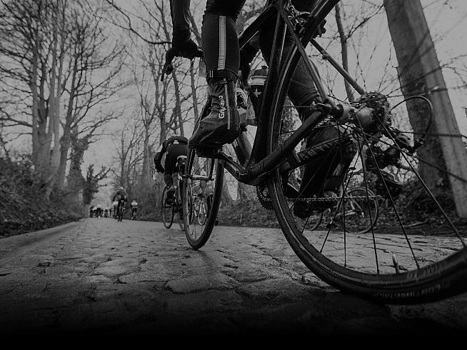 Tackle infamous cobbled climbs including the Koppenberg and Paterberg on the Tour of Flanders sportive.
