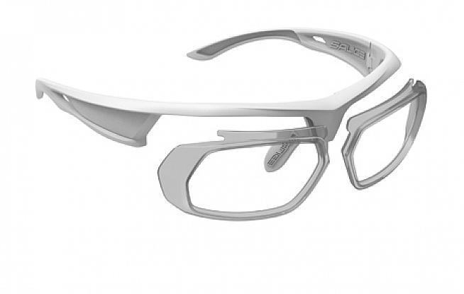 The optical insert kit allows you to fit prescription lenses to any of the Salice 005 range of frames.