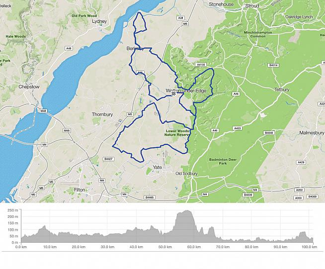 For those in full health the long route of the Cotswold Edge Sportive is a scenic 132km season-ending challenge.