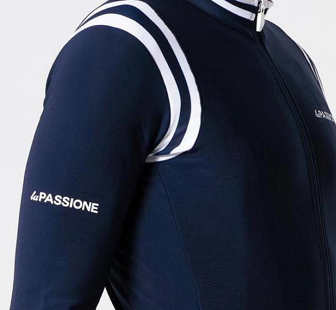 The Winter Jersey is available in over 20 designs including the classic navy version tested.