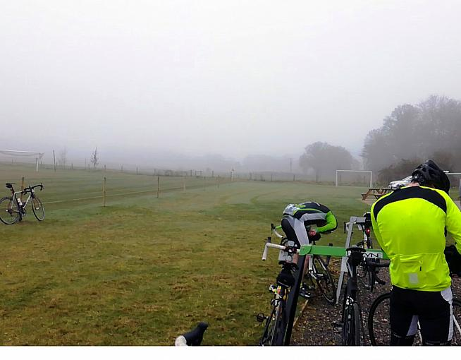 The Ups and Downs is a popular early season goal with local cyclists.