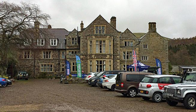 Clennell Hall hotel was HQ for the first Mod Rocker sportive.
