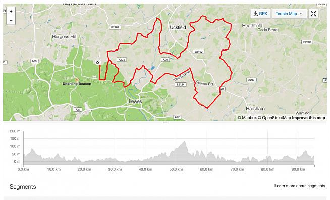 Standard route for the South Downs Spring Sportive visits many a Sussex lane.