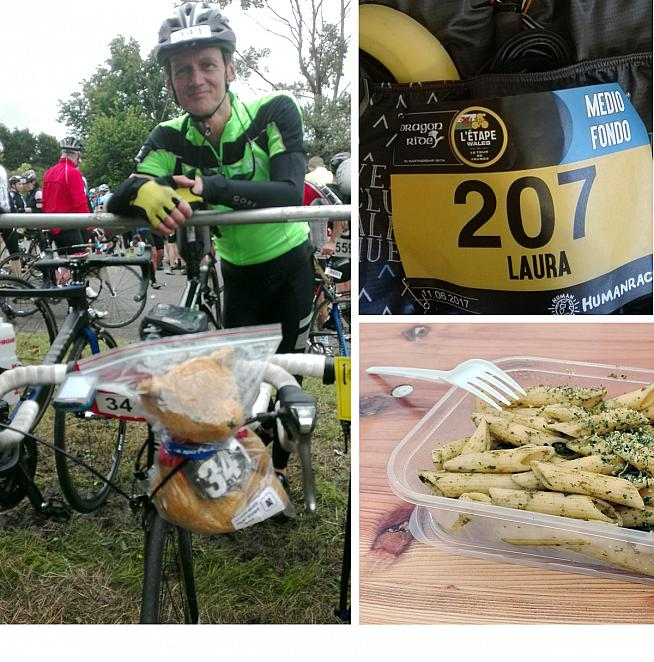 Day 3 is the Dragon Ride itself and a chance to catch up with Julian - and some pasta...