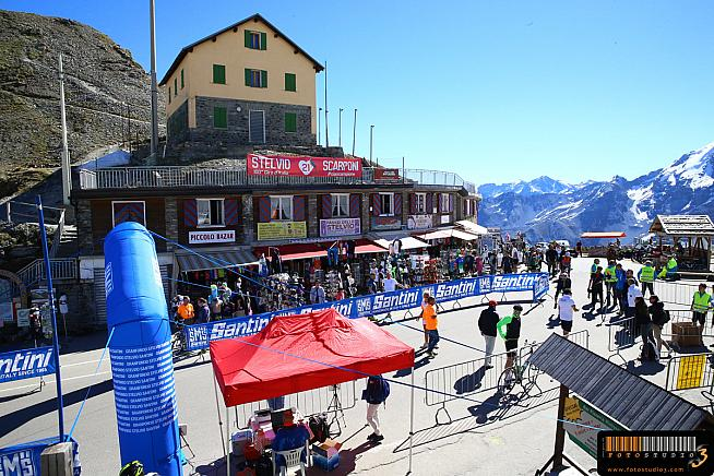 Sportive scenes at Bormio. Now where's the pasta party...