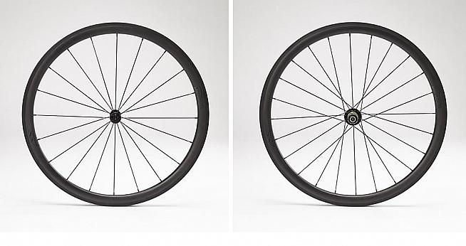 The Grimpeur is the lightest and most shallow carbon wheelset from Parcours.