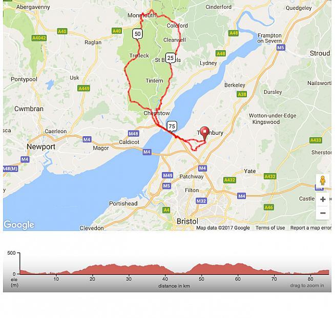 Piccolofondo route for the Black Rat sportive.