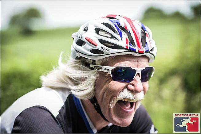 This man doesn't need the UCI to tell him he's a champion.