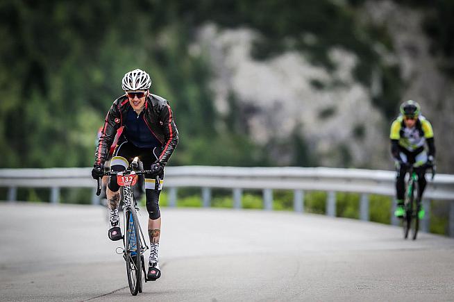 If you like climbing you'll love the Maratona. Photo: Sportograf