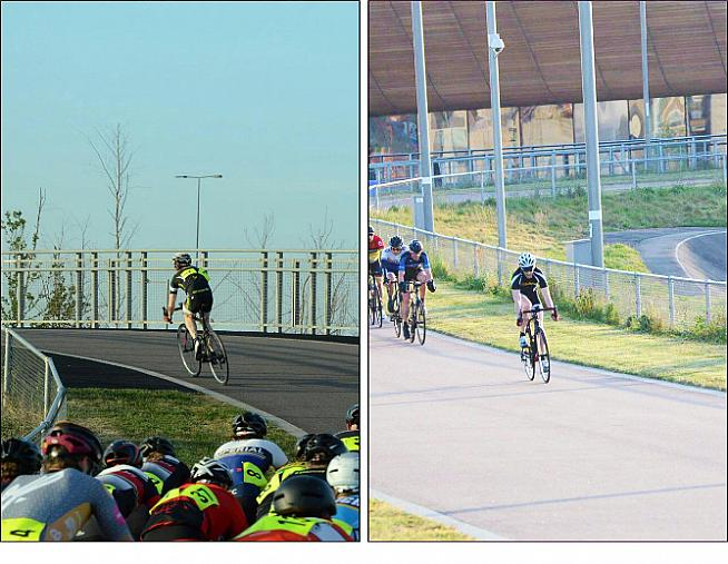 Dan's training includes a daily 40km commute and racing off the front at Lee Valley.