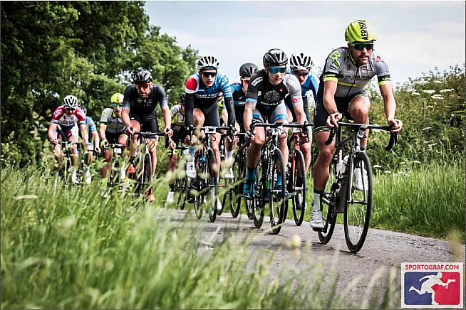 On the rivet in this year's Tour of Cambridgeshire Gran Fondo.
