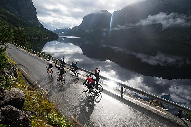 Riders can look forward to stunning scenery and pro-level support on the new Haute Route Norway in 2018.