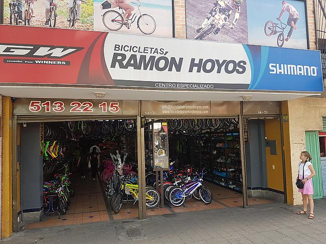 Once home to a deity of Colombian cycling...Ramon Hoyos.