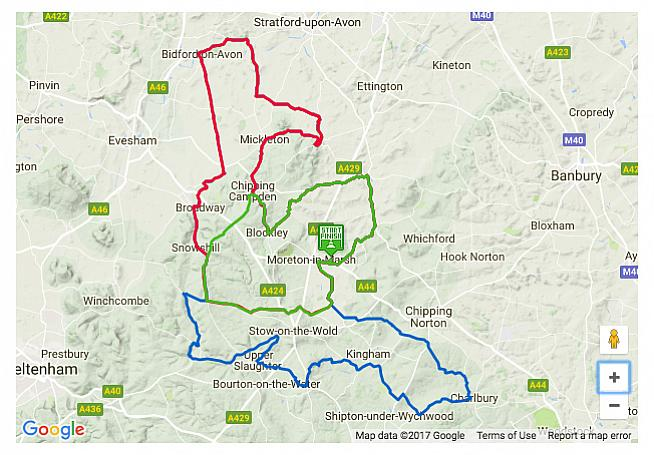 The Wiggle Cotswolds Sportive offers a choice of three routes topping out at the 102-mile Epic.