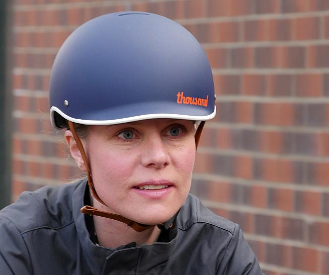 Thousand helmets offer a sleek look for urban rides and commuting.