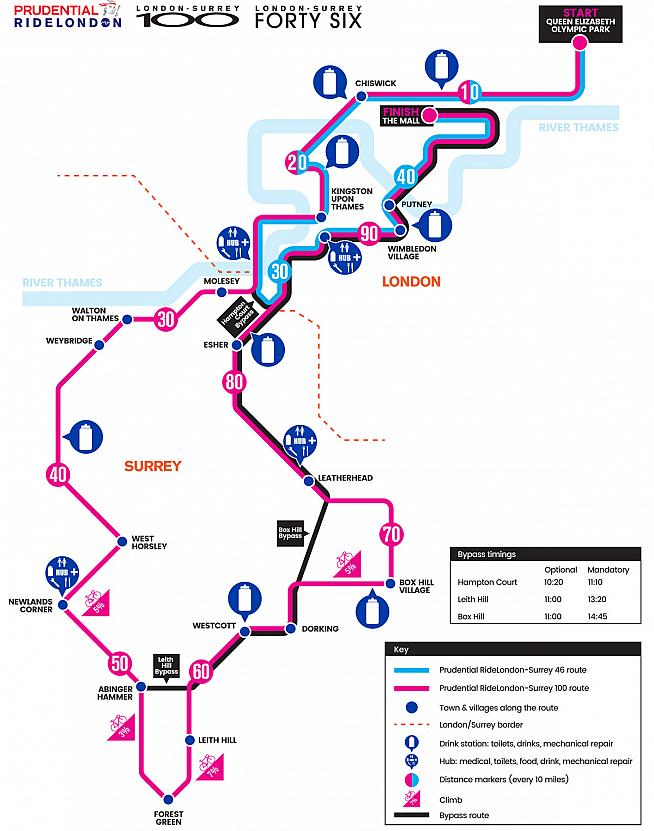 RideLondon is a rare chance for amateur cyclists to race 100 miles on closed roads.