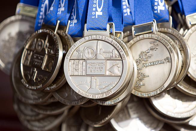 Get your preparation right and you'll have earned that medal at the finish. Photo: AC