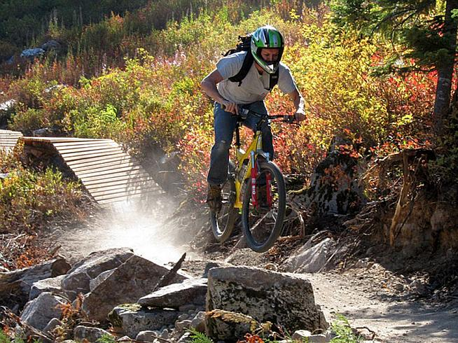 Taking to the trails is not just fun in itself but can help improve your road cycling.