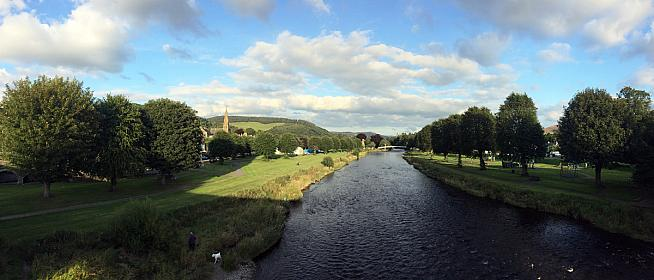 Beautiful Peebles hosts the Tour O The Borders. Photo: OllyTownsend