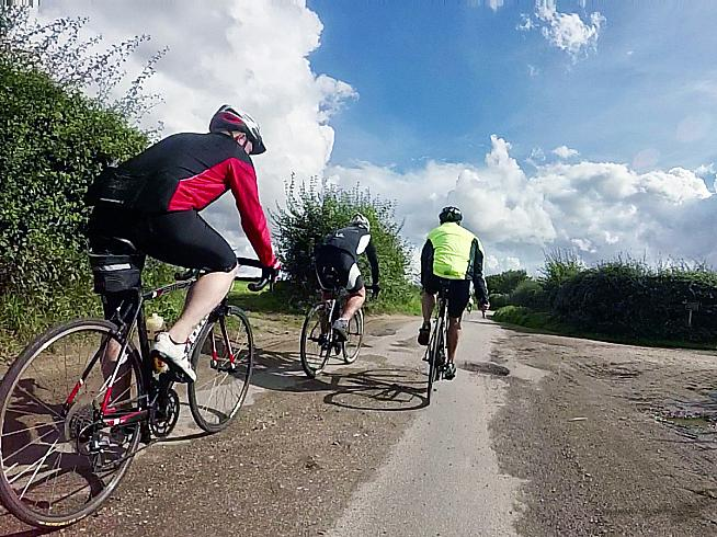 Through the plashy fen passes the questing rouleur...