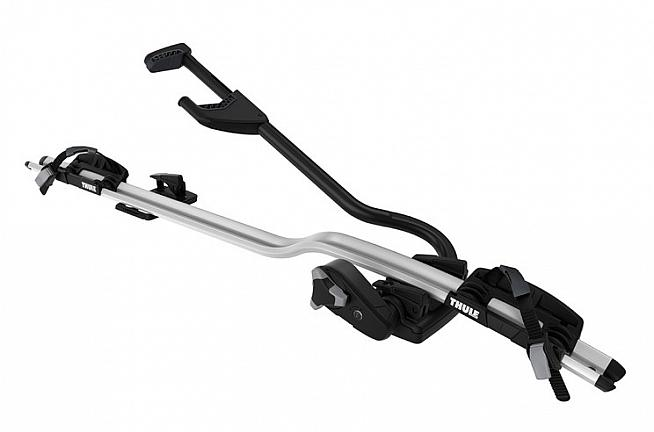 The Thule ProRide 598 is a lightweight roof-mounted carrier that makes transporting your bike a doddle.