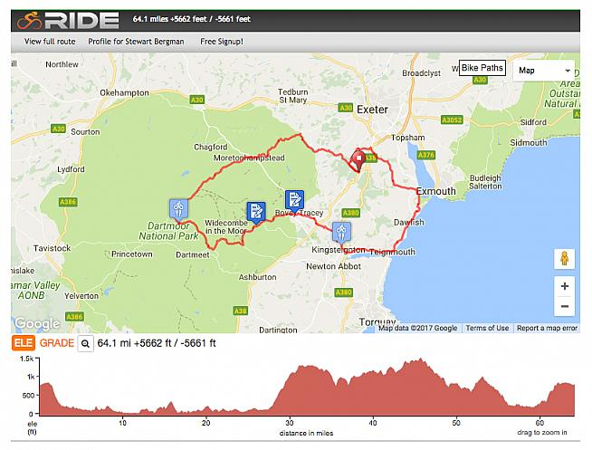 The 65-mile Challenge route skirts the coast before dipping inland for the moors.