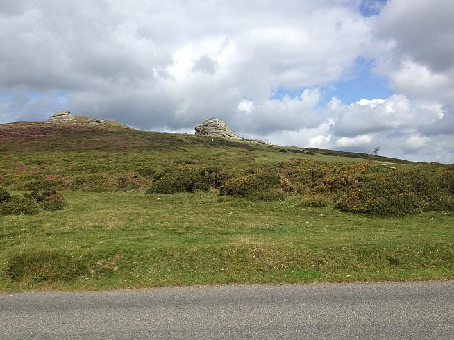 With 50 miles in the legs Dartmoor and Haytor are a bleak prospect.