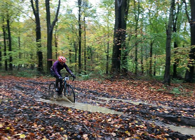 Everybody loves muddy puddles. Peppa Pig would love the Crossbones sportive.