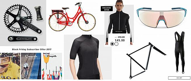 Save a few pounds over Cyber Weekend with these cycling deals.